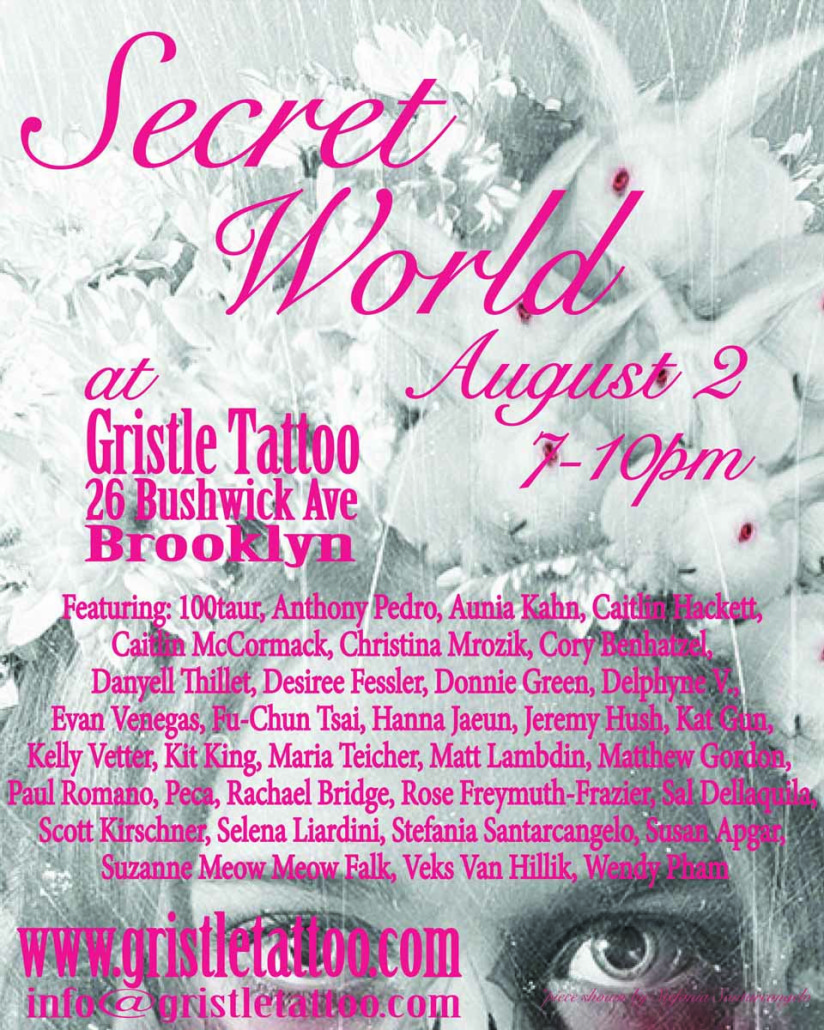 Secret world flyer